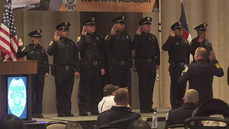 OPD holds graduation ceremony for 22nd police academy class