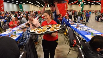 H-E-B holds 2019 Feast of Sharing in Midland