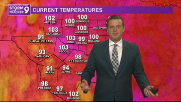 Heat continues, but some relief next week