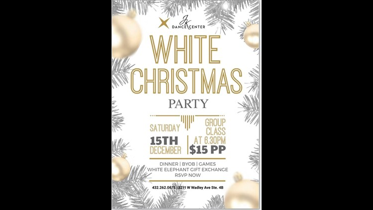 Midland dance center to host 'White Christmas Party'