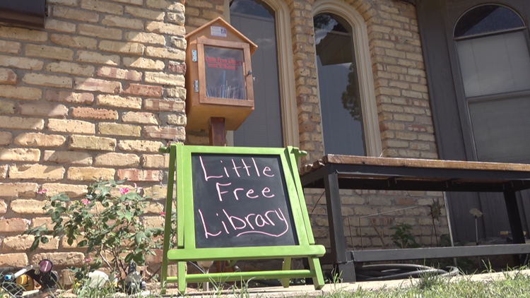 Odessa woman starts Little Free Library in her yard to provide free books for kids in the community