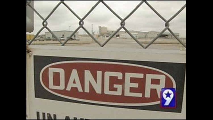 State Fines Company Working Out of Andrews