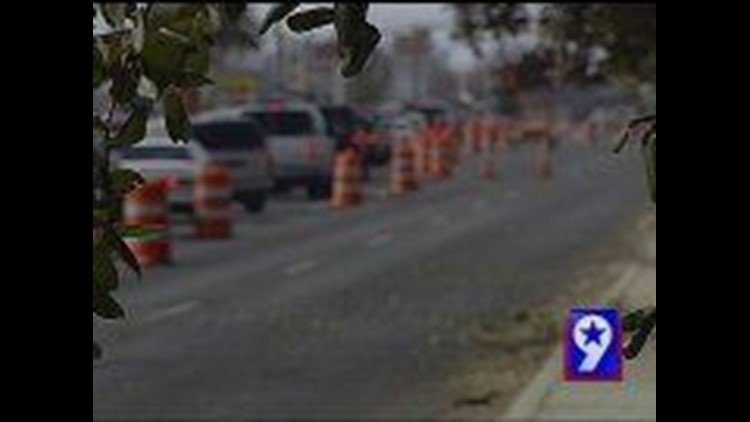 Avoiding Construction in Midland
