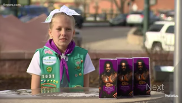 'Momoas' for sale! Colorado Girl Scout markets her cookies with picture of Jason Momoa