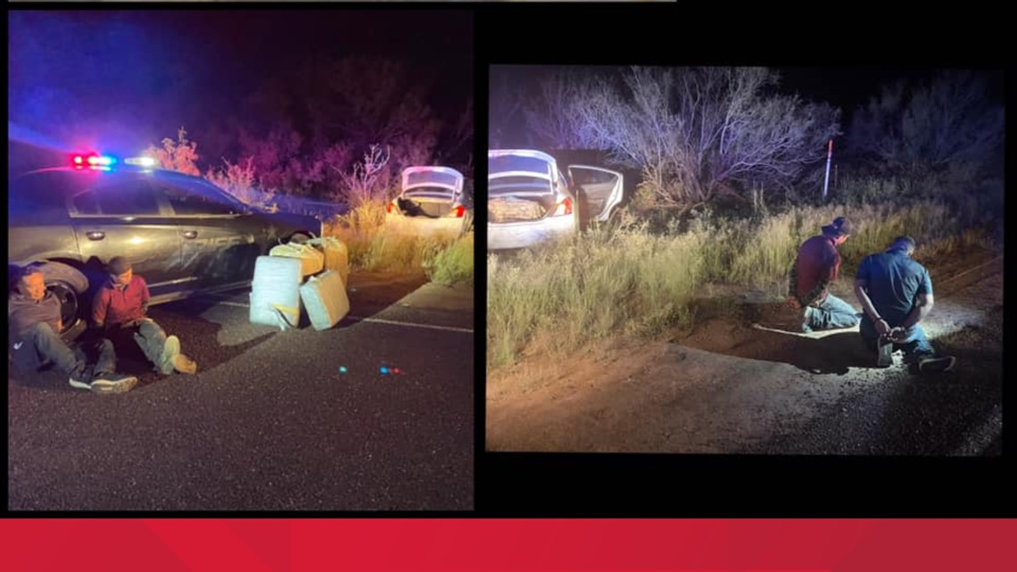 Two undocumented migrants arrested near Van Horn after high speed chase