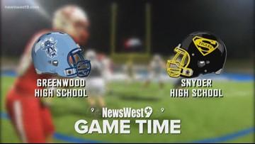 Week 8-Greenwood vs. Snyder