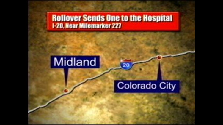 Interstate 20 Reopened After Two Accidents Near Colorado