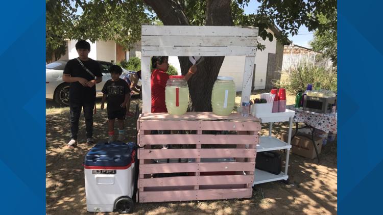 3 boys use their lemonade stand to raise money for friend with leukemia