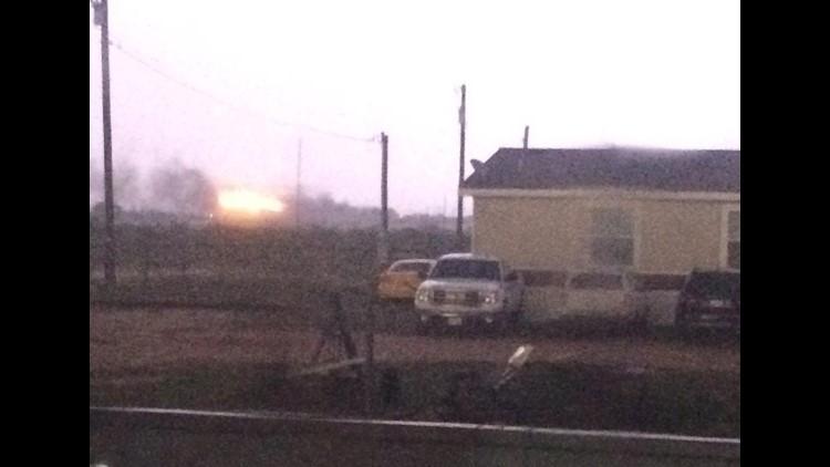 Tank battery fire in Greenwood | newswest9 com