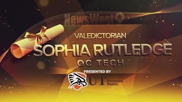 Sophia Rutledge - Valedictorian for OC Tech