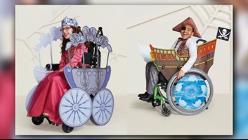 Target to carry wheelchair-friendly Halloween costumes for children