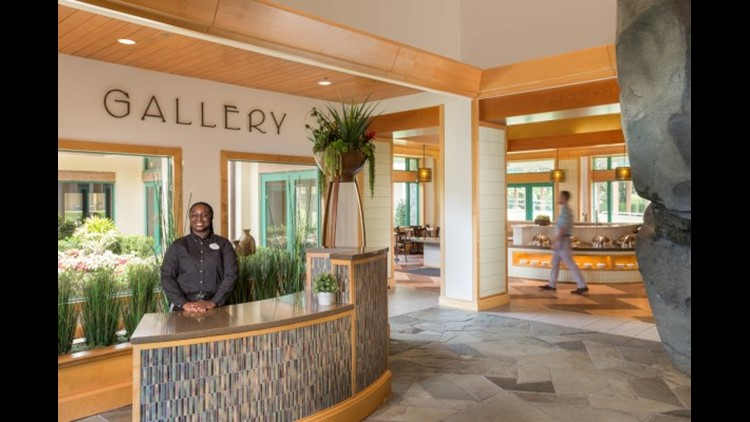 The Garden Gallery at the Shades of Green Resort. (Photo courtesy of Shades of Green Resort)