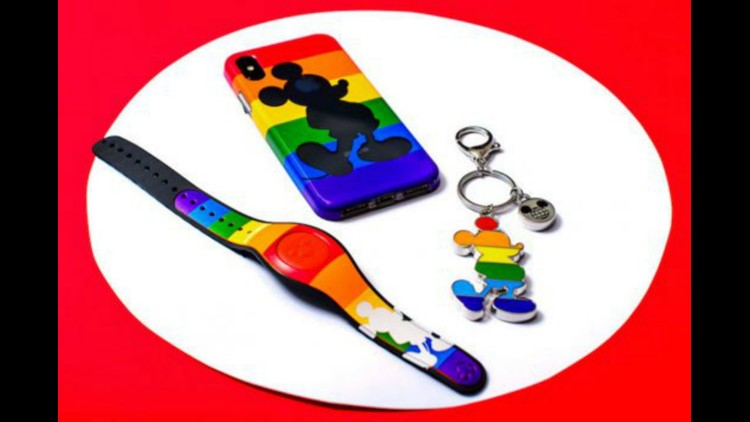 Disney Pride Merchandise. Image via Disney.
