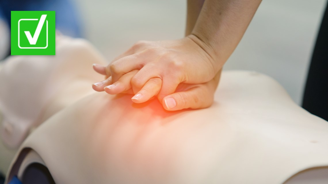 Yes, CPR should be performed at the same tempo as the disco song 'Stayin' Alive'