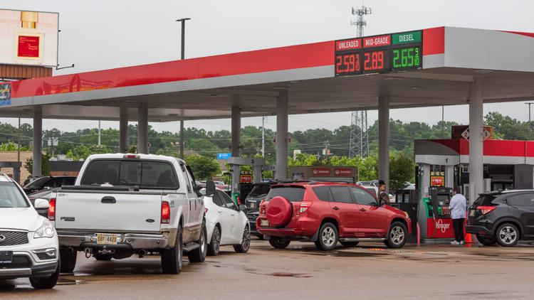 Yes, gas stations are running low on gas, but panic buying just makes that problem worse