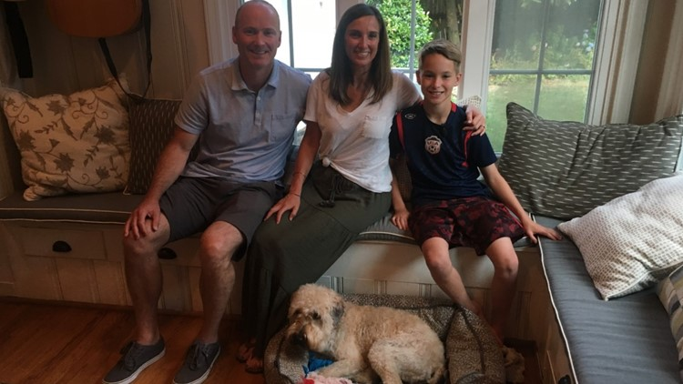Charlotte family reunites with missing dog