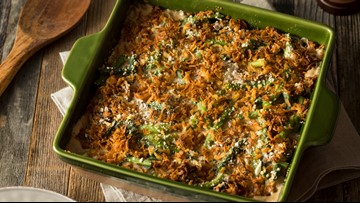 Green bean casserole is America's least favorite Thanksgiving side, survey finds