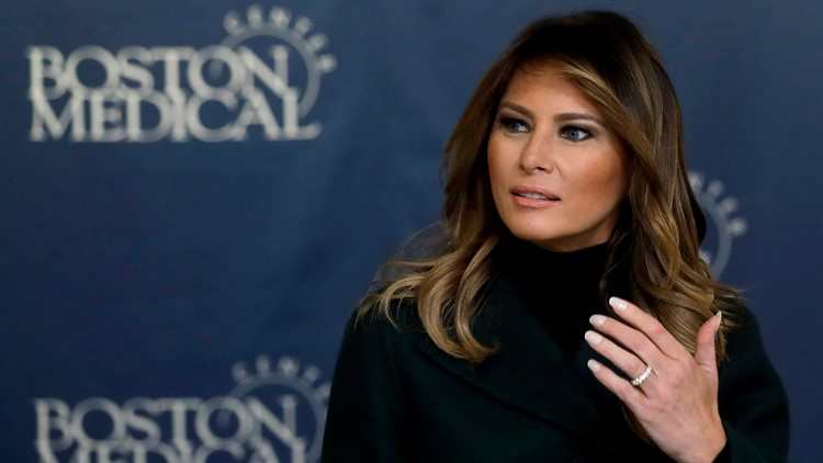 First lady appears to condone Trump's criticism of Greta Thunberg