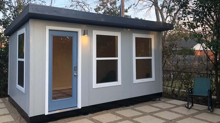 Meet the Richardson-based company building backyard sheds for people working from home