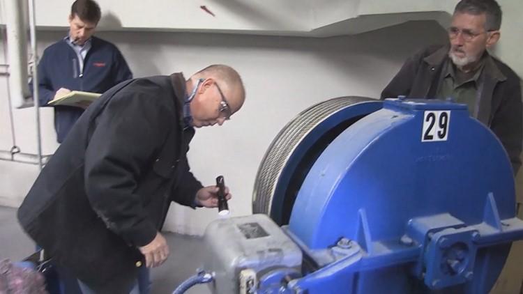 JPS elevator inspection TDLR