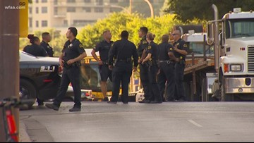 Bystander killed, another injured in shootout in downtown Dallas