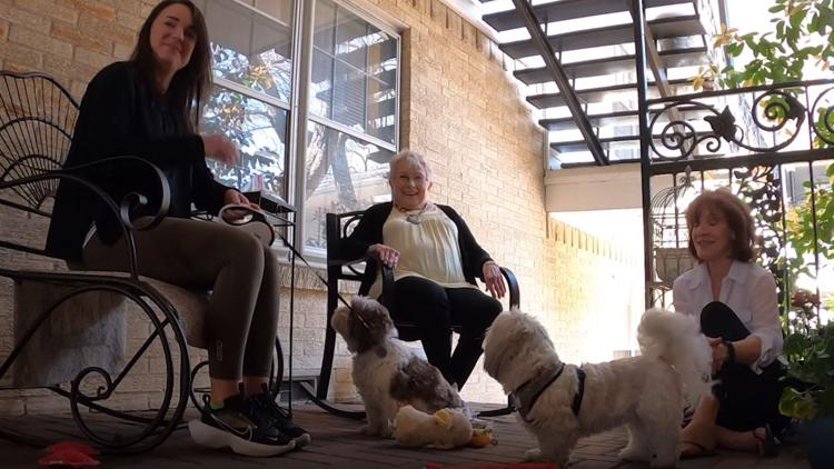 'They just melt my heart': This 81-year-old Dallas woman just wanted to pet a dog. Hundreds of people stepped up to help