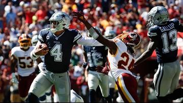 Resilient Prescott provides spark for Cowboys