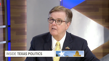 Inside Texas Politics: Lt. Gov. Dan Patrick isn't worried about Democrats in November