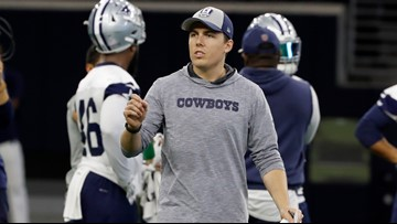 Cowboys young offensive coordinator shares his vision for success