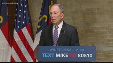 Michael Bloomberg qualifies for Wednesday's Democratic debate