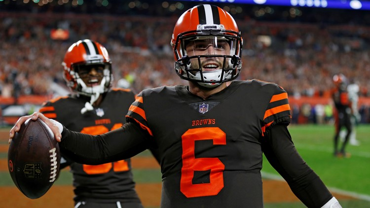 Baker Mayfield New York Jets-Cleveland Browns