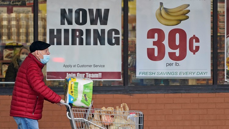 US unemployment claims fall to 376,000, sixth straight drop
