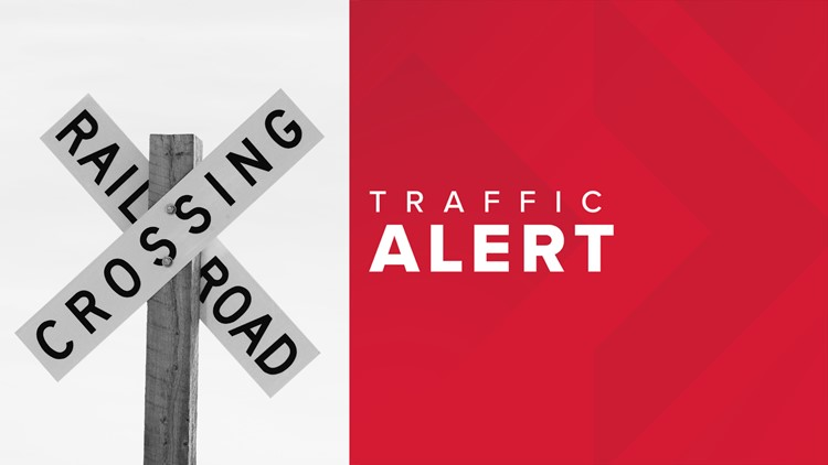 TRAFFIC ALERT: Intersection of Front and Garfield closed due to improper crossing at train tracks