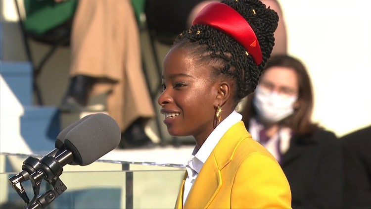 Inauguration star Amanda Gorman delivers Super Bowl pre-game poem