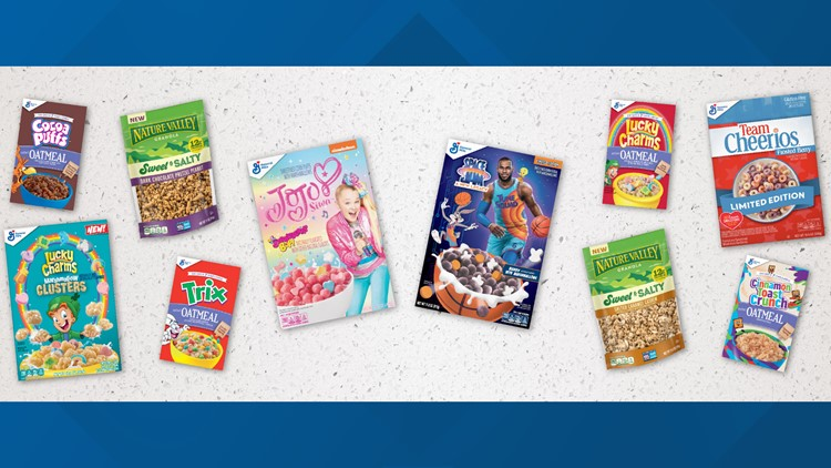 Cereal-flavored oatmeal, 'Space Jam' cereal hitting shelves this summer