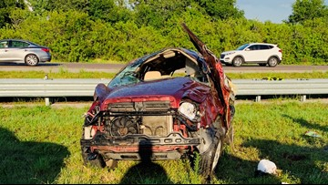 Mom's 'aggressive hand gestures' on I-75 led to a deadly crash: FHP