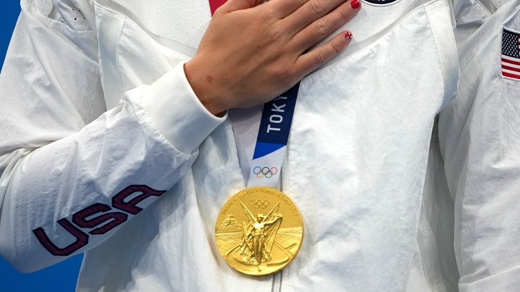 How much is an Olympic gold medal worth? A lot less than you think