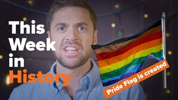 This Week in History: The colorful story behind the Pride flag