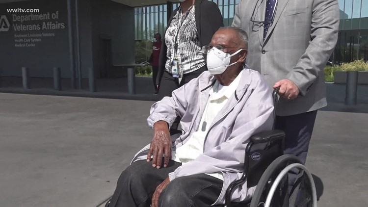 Oldest living WWII Veteran turns 111 this Saturday in New Orleans home