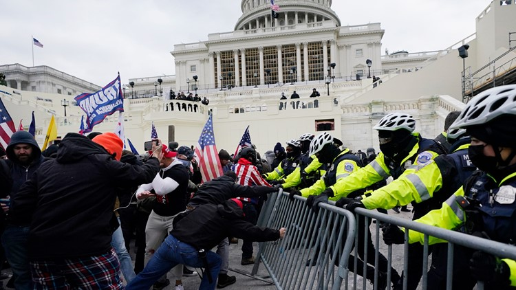 Court docs: Georgia attorney threatened lives ahead of Capitol riots, was first to kick in Pelosi's door