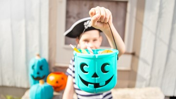 Why does Halloween involve trick-or-treating?