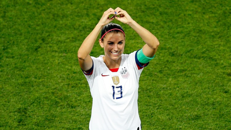 Alex Morgan has first child, baby girl Charlie