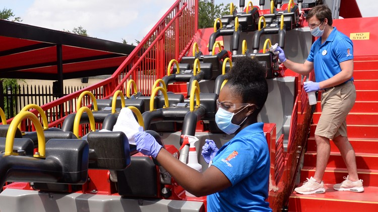 Six Flags plans to reopen all 26 locations this season