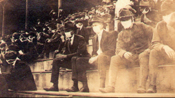 Picture of Georgia Tech football game during 1918 pandemic shows how sports went on